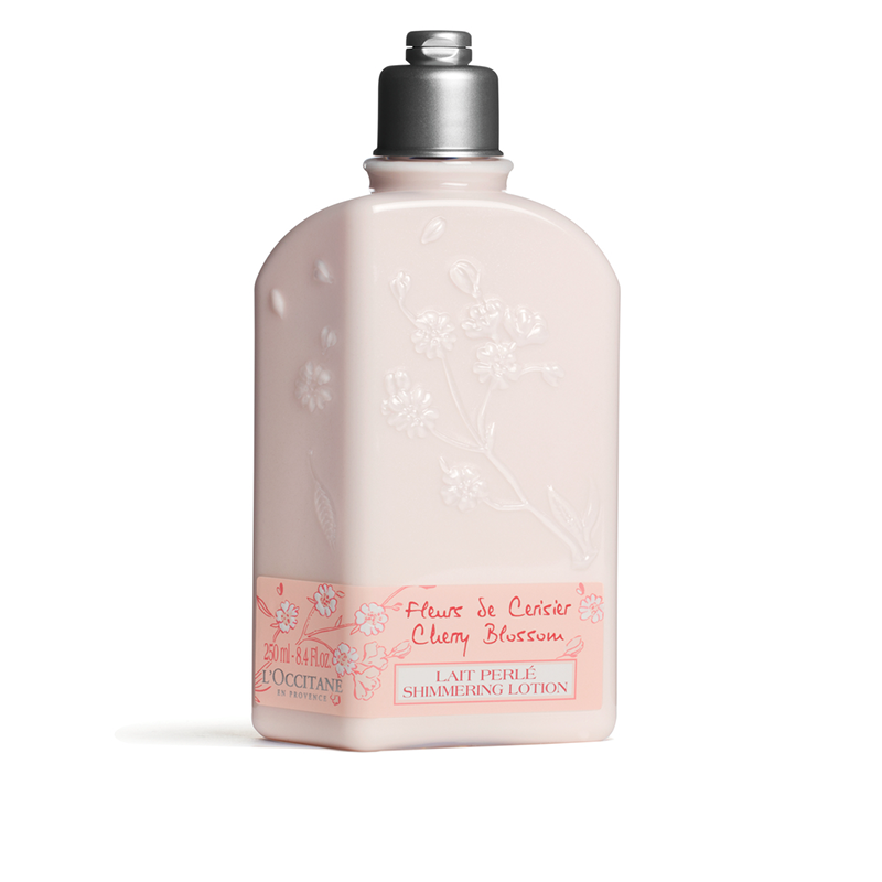 L'Occitane Cherry Blossom Shimmering Lotion -250ML - Grays Home Delivery