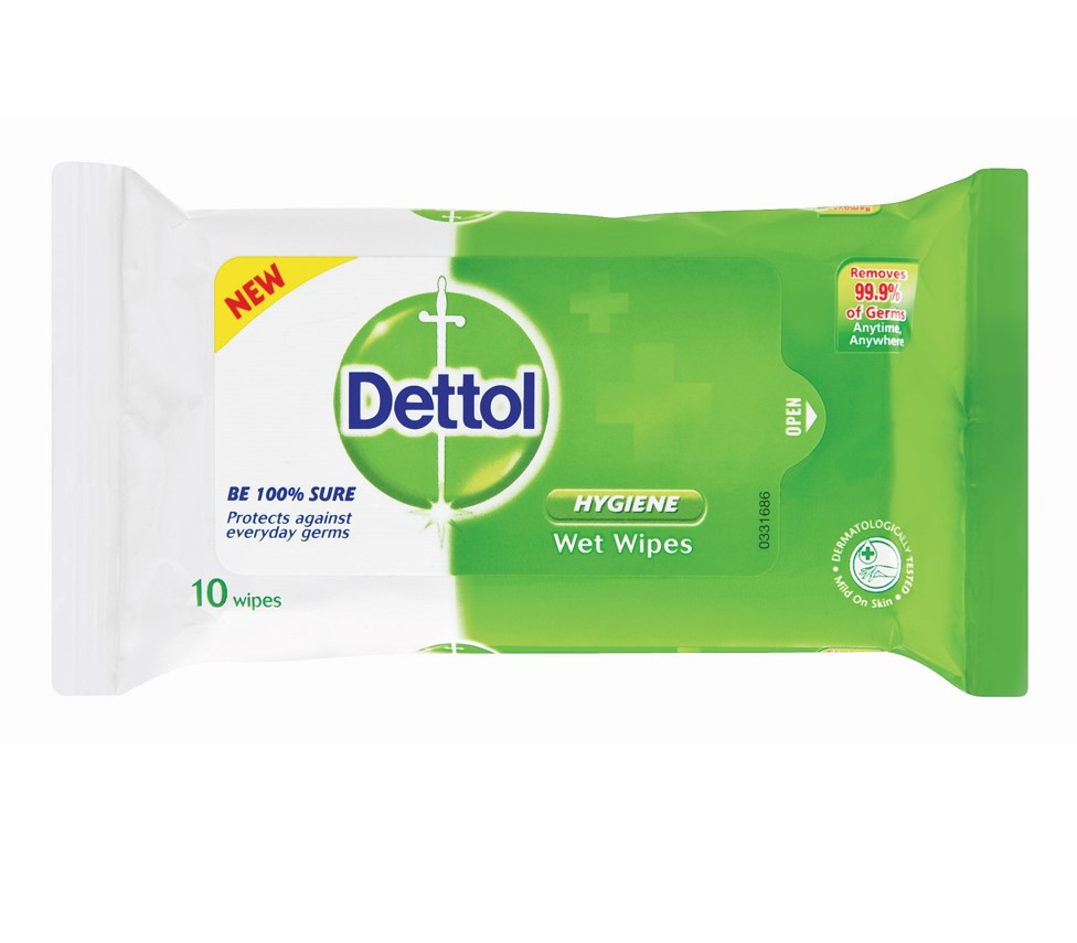Dettol Wipes Original – 10's - Grays Home Delivery