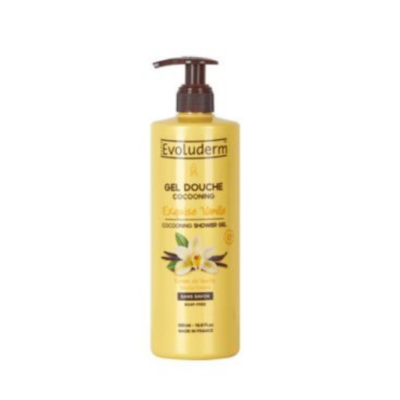 Evoluderm Shower Gel Exquisite Vanilla – 500ML - Grays Home Delivery