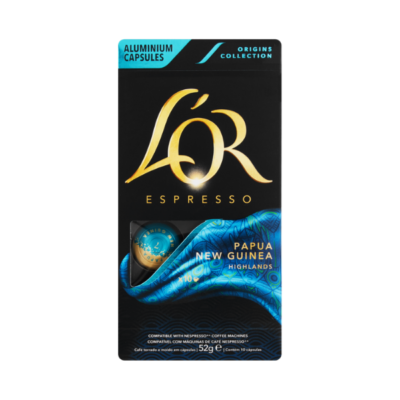 L'OR CAPSULES ORIGINS UTZ PAPUA NEW GUINEA – 5.2GX 10 - Grays Home Delivery