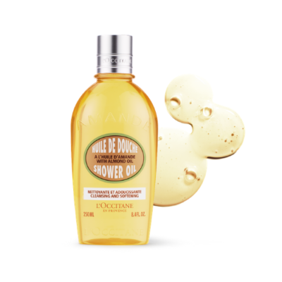 L'Occitane Almond Shower Oil – 250ML - Grays Home Delivery