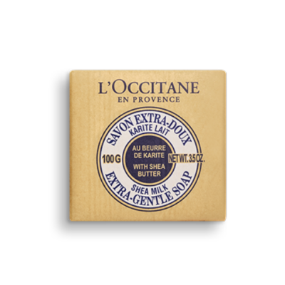 L'Occitane Milk Shea Butter Extra Gentle Soap -100g - Grays Home Delivery