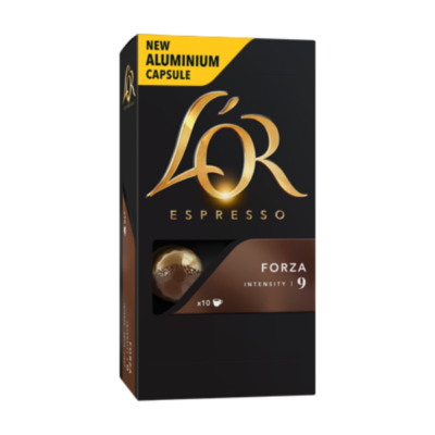 L'OR CAPSULES FORZA – 5.2G X 10 - Grays Home Delivery