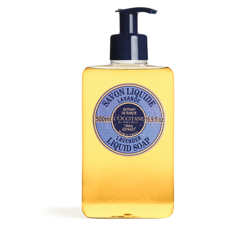 L'Occitane Shea Lavender Hands Liquid Soap – 500ML - Grays Home Delivery