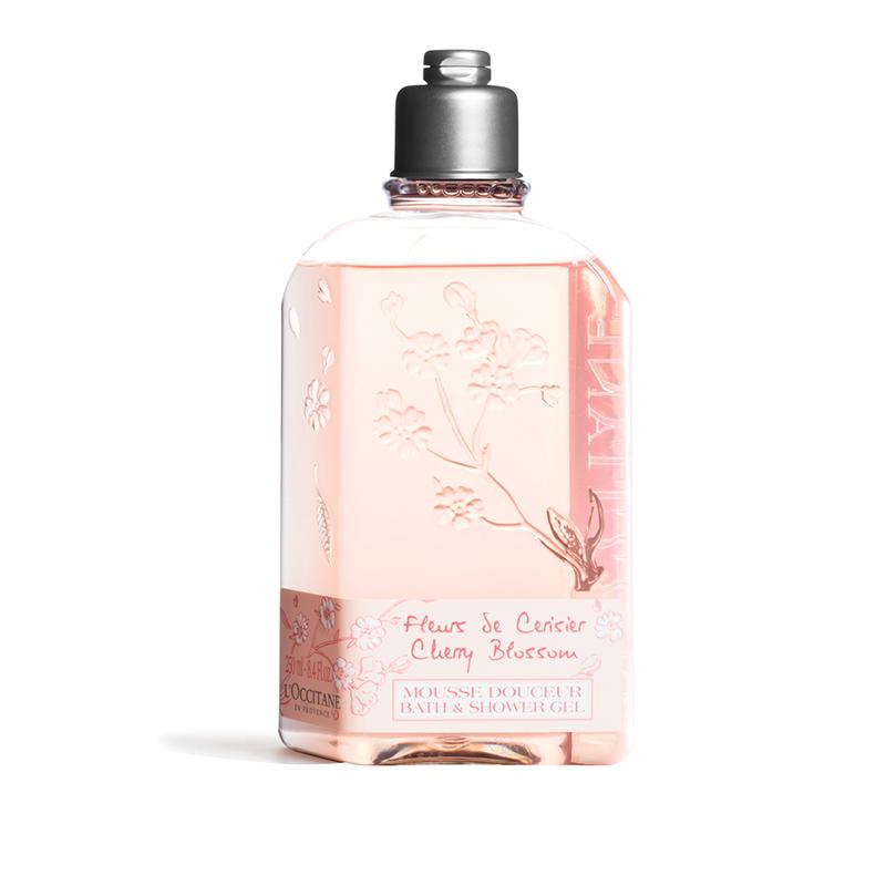 L'Occitane Cherry Blossom Bath & Shower Gel – 250ML - Grays Home Delivery