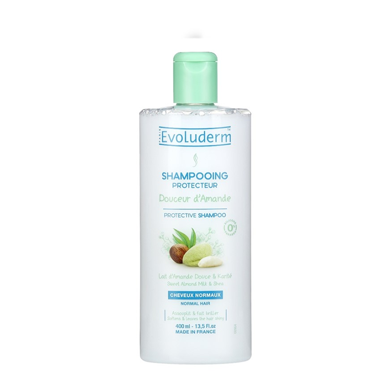 Evoluderm Shampoo Sweet Almond – 400ML - Grays Home Delivery
