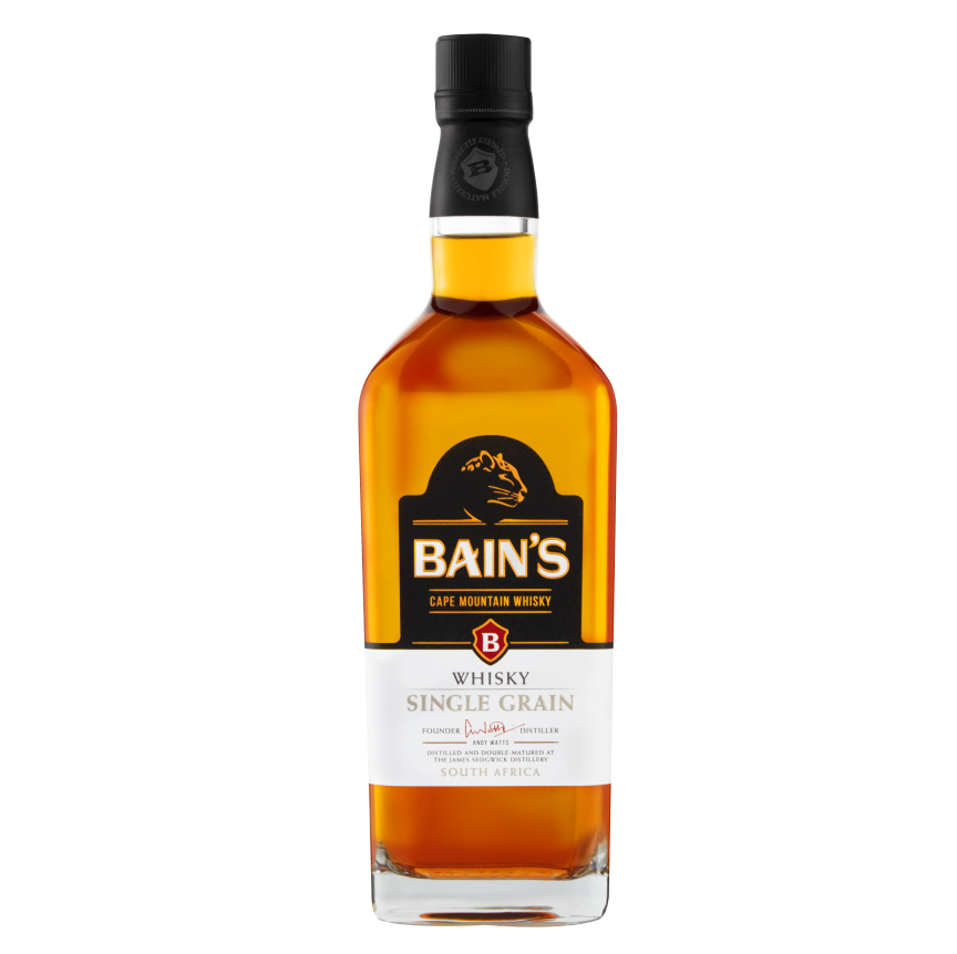 BAINS CAPE MOUNTAIN WHISKY  40% – 750ML - Grays Home Delivery