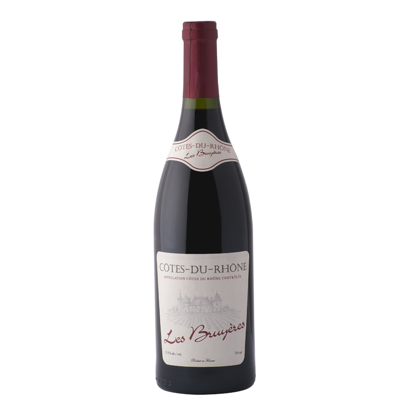 LES BRUYERES COTES DU RHONE – 750ML - Grays Home Delivery