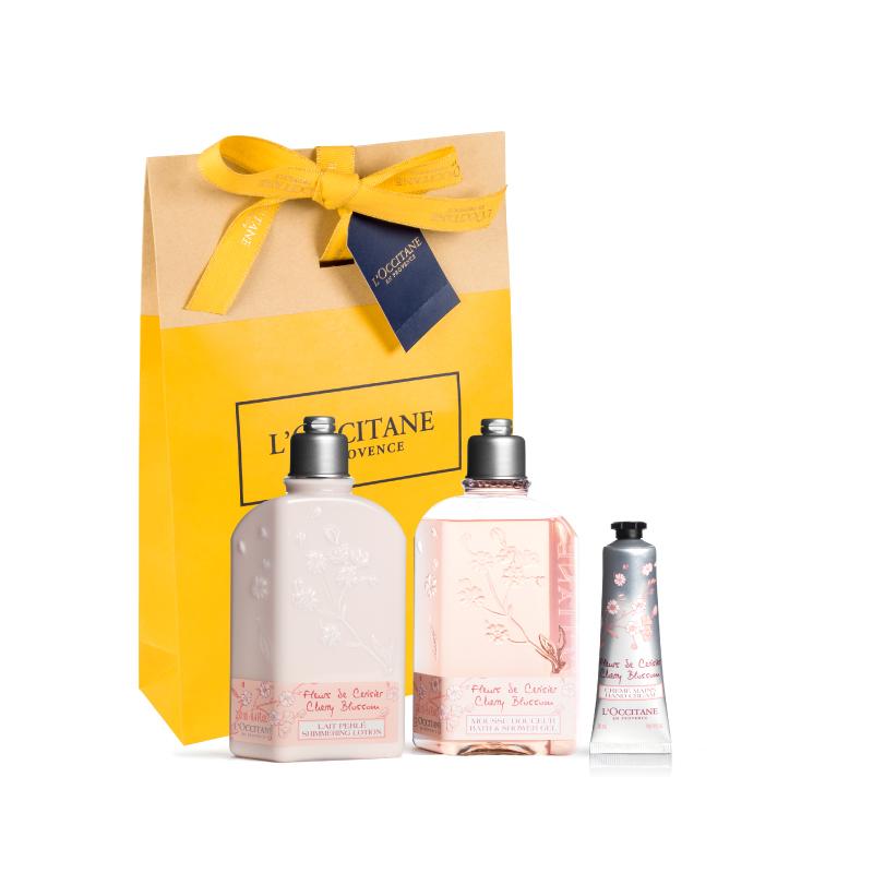 Delicate & Feminine Cherry Blossom Trio - Grays Home Delivery