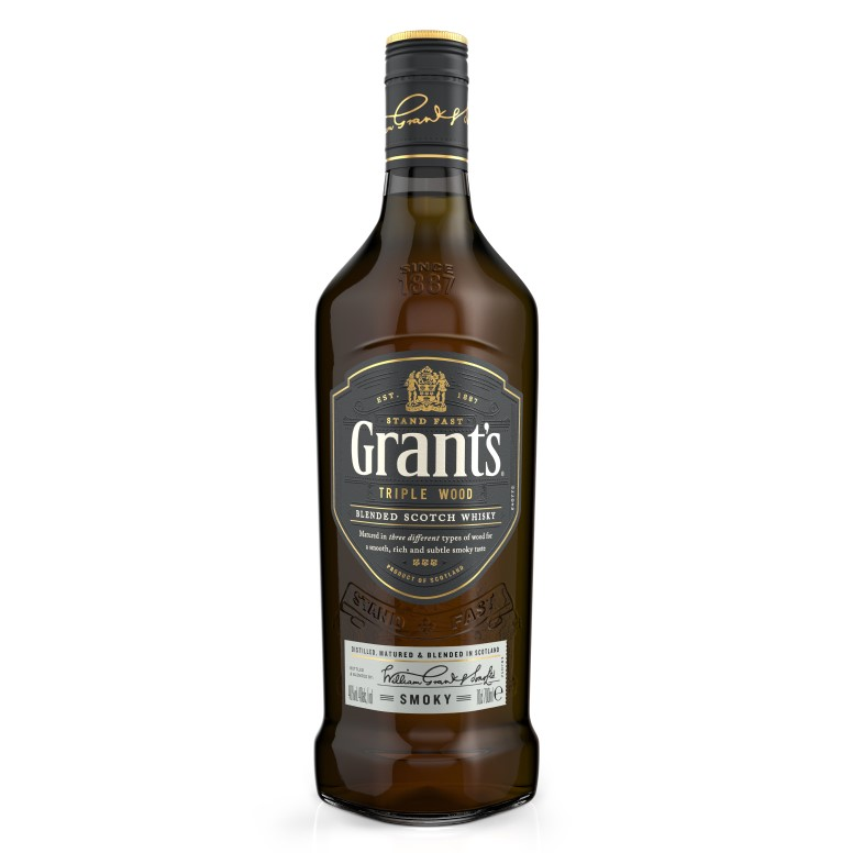 Grant's Triple Wood Smoky –  700ML - Grays Home Delivery
