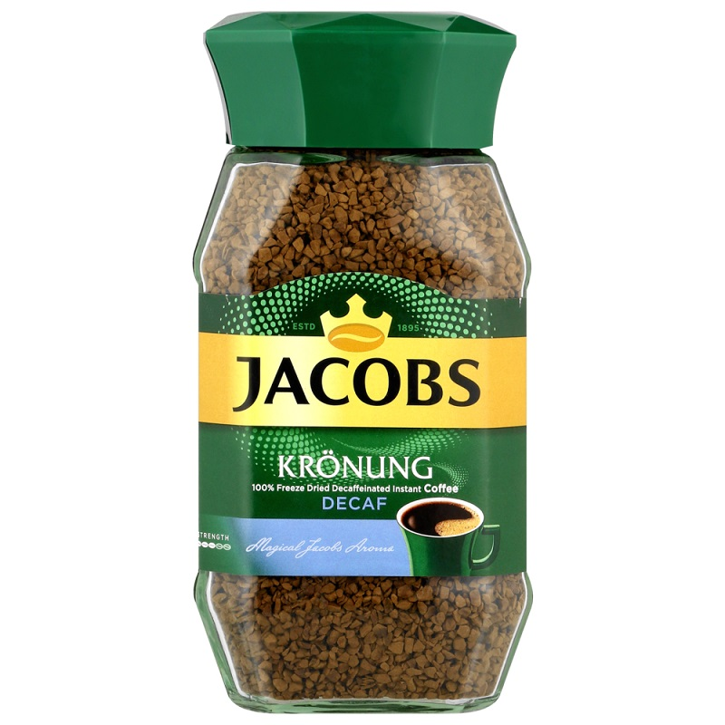JACOBS KRONUNG DECAF COFFEE – 200G - Grays Home Delivery