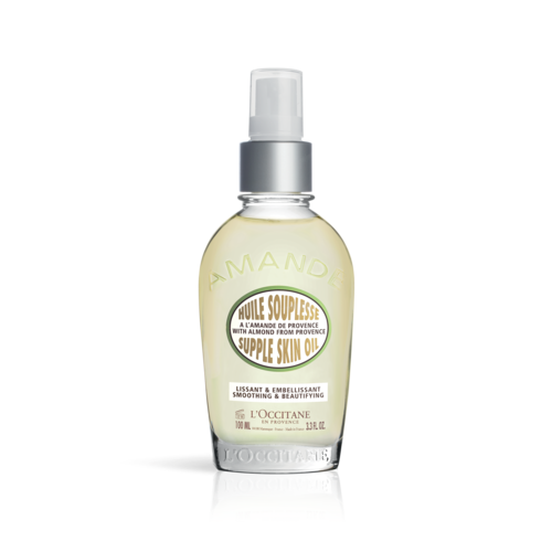 L'OCCITANE ALMOND SUPPLE SKIN OIL – 100ML - Grays Home Delivery