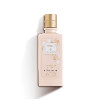 L'OCCITANE NEROLI & ORCHIDEE BODY MILK – 245ML - Grays Home Delivery