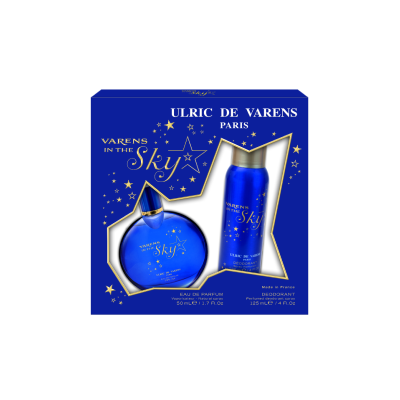 Ulric de Varens For Her Varens In The Sky Coffret – (EDP 50ml + Deo 125ml) - Grays Home Delivery