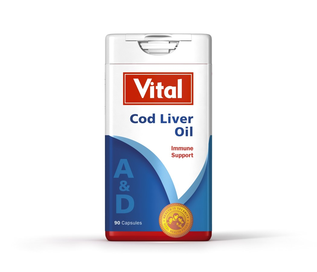 Vital Cod Liver Oil – 90 Caps - Grays Home Delivery