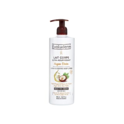Evoluderm Argan Divin Ultra-Nourishing Body Lotion – 500ml - Grays Home Delivery
