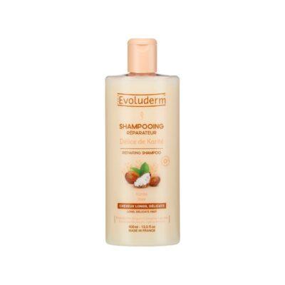 Evoluderm Délice de Karité Repairing Shampoo – 400ml - Grays Home Delivery