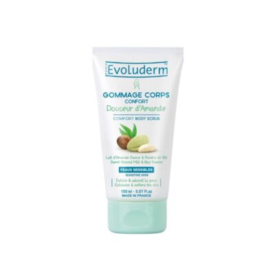 Evoluderm Douceur d'Amande Comfort Body Scrub -150ml - Grays Home Delivery