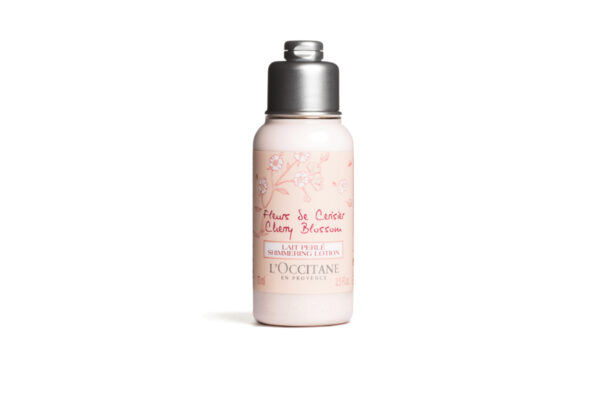 L'Occitane Cherry Blossom Shimmering Lotion – 75ml - Grays Home Delivery