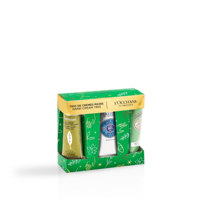 L'Occitane Trio Hand Cream Holiday Giftset – 30ml - Grays Home Delivery