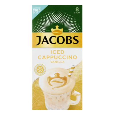 JACOBS ICED CAPPUCCINO – VANILLA 23.2G X 8S - Grays Home Delivery