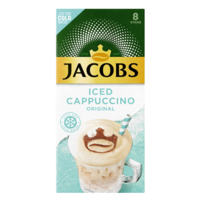JACOBS ICED CAPPUCCINO – ORIGINAL 23.4G X 8S - Grays Home Delivery