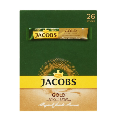 JACOBS KRONUNG STICKS 1.8G X 26S GOLD - Grays Home Delivery