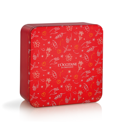 Rose Holiday Quatuor Tin Box - Grays Home Delivery
