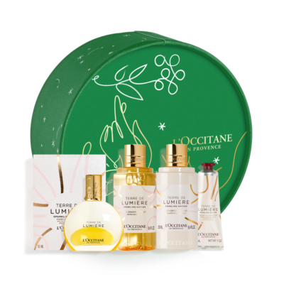 TERRE DE LUMIERE SPARKLING EDITION ESSENTIALS Holiday Box - Grays Home Delivery