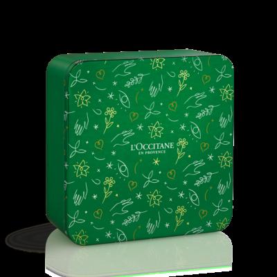 Verbena Holiday Quatuor Tin Box - Grays Home Delivery
