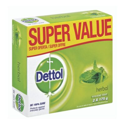 Dettol Soap Herbal Value Pack – 2 x 175g - Grays Home Delivery