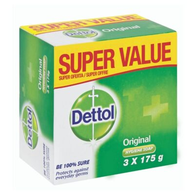 Dettol Soap Original Value Pack – 3 x 175g - Grays Home Delivery