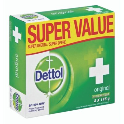 Dettol Soap Original Value Pack – 2 x 175g - Grays Home Delivery