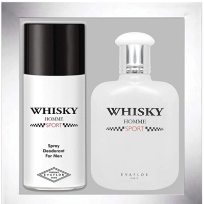 Evaflor Whisky Sport Coffret – (Edt 100ml + Deo 150ml) - Grays Home Delivery