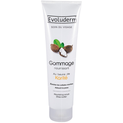 Evoluderm Nourishing Scrub With Shea Butter – 150ml - Grays Home Delivery