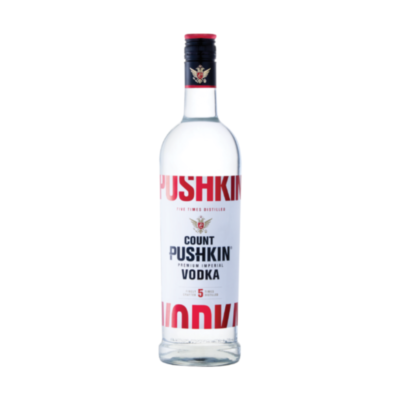 COUNT PUSHKIN VODKA – 700ML 37.5% - Grays Home Delivery