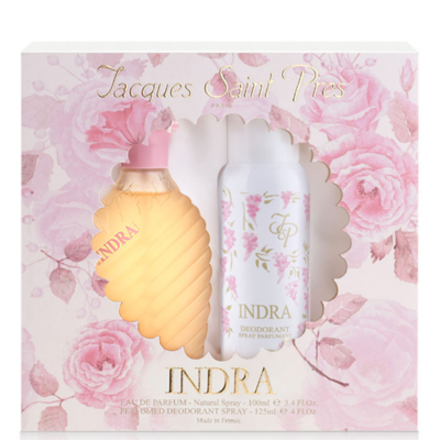 Jacques St Pres Indra Coffret – (Edt 100ml + Deo 125ml) - Grays Home Delivery