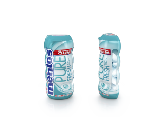 MENTOS PURE FRESH WINTERGREEN GUM 18P – 31.5G - Grays Home Delivery