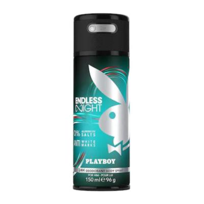 Playboy Body Spray Endless Night Man – 150ml - Grays Home Delivery
