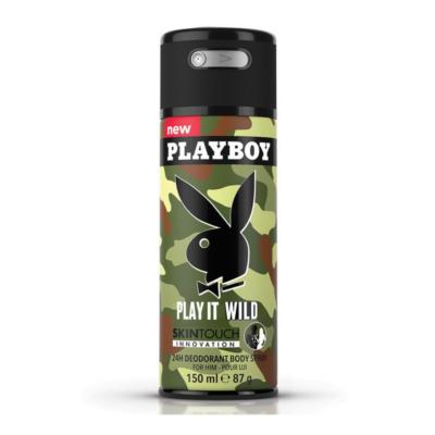 Playboy Body Spray Wild Man – 150ml - Grays Home Delivery