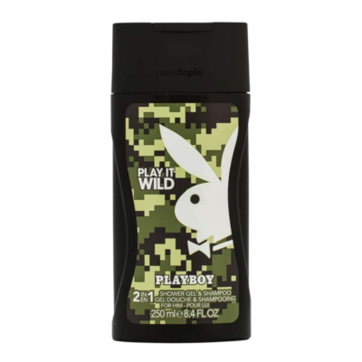 Playboy Shower Gel Wild Man – 250ml - Grays Home Delivery