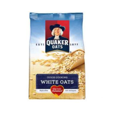 QUAKER WHITE OAT ALUMINIUM FOIL – 500G - Grays Home Delivery