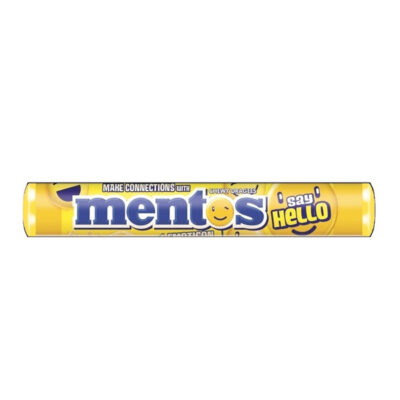 MENTOS SAY HELLO LEMON ROLL – 37.5G - Grays Home Delivery