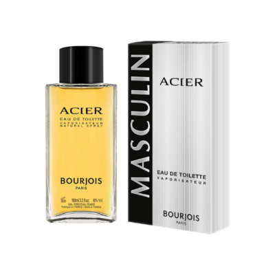 Bourjois Eau de Toilette Masculin Acier – 100ml - Grays Home Delivery