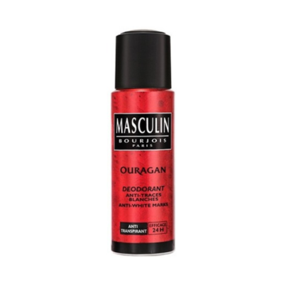 Bourjois Ouragan Masculin Deodorant Spray – 200ml - Grays Home Delivery