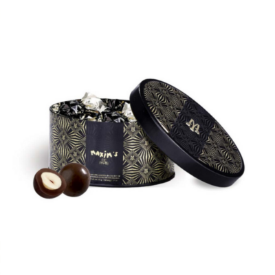 MAXIM'S BONBONNIERE DE NOISETTES TORREFIEES CHOCOLAT NOIR - Grays Home Delivery